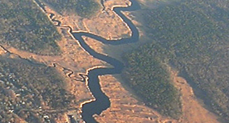 Carman's River from the air-snip2
